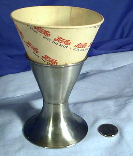 Pepsi Cola Soda Fountain Paper Cone 1940 S Amp 1950 S Rare