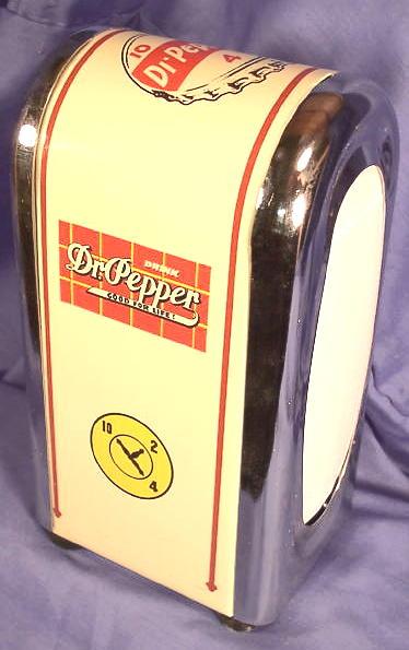 Dr Pepper 1950 S Style Soda Fountain Counter Top Napkin