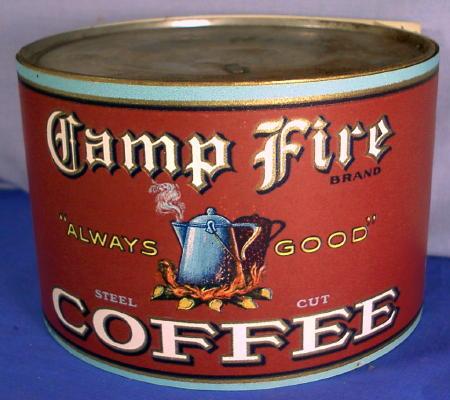 Alfa img showing old coffee cans - What are coffee cans made of ...