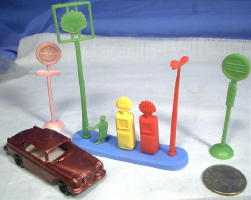 Old Vintage Gasoline Toys And Gas Novelties