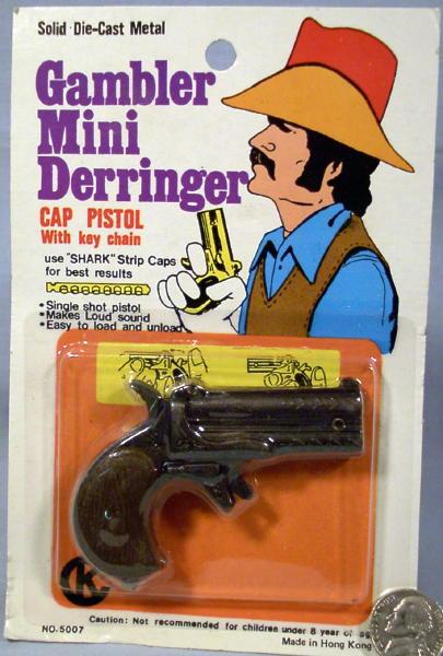 Cap Gun 1970 S Mini Derringer Working Toy Capgun