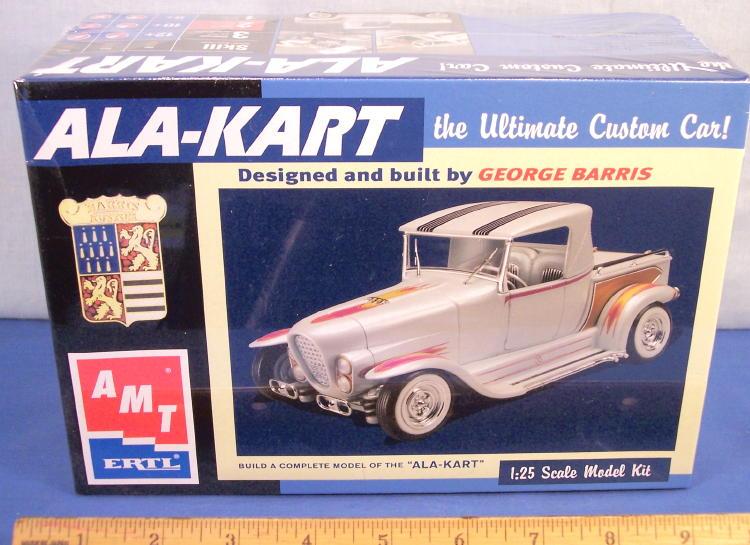 Ala Kart Amt Plastic Model Kit George Barris