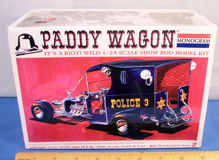 Paddy Wagon Plastic Model Car Kit